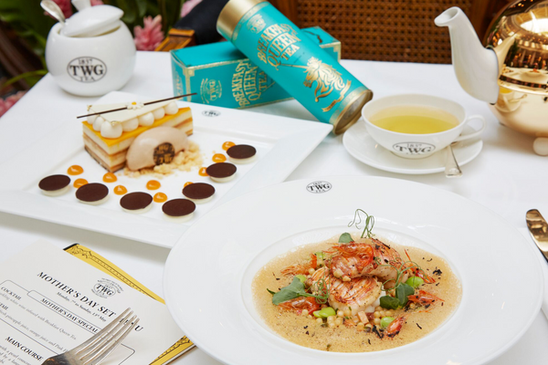 A Memorable Mother's Day Weekend at TWG Tea
