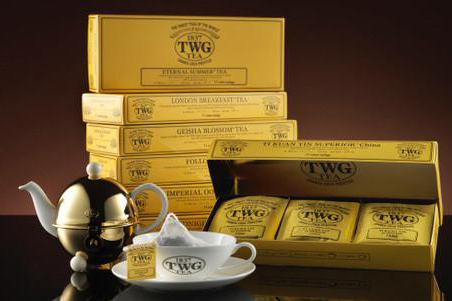 TWG Tea's ultimate 100% Cotton Teabag Collection