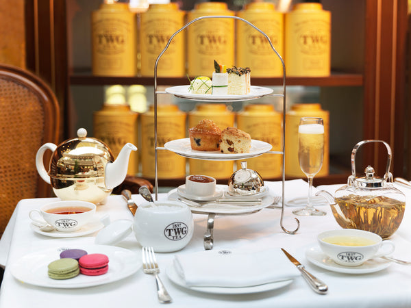 TWG Tea Salon & Boutique, Vancouver, Canada - Chic Tea Set, afternoon tea