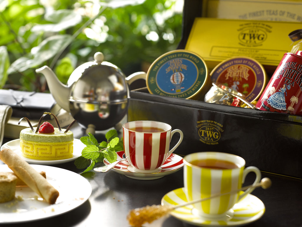 A Summer Afternoon Tea Rendezvous with TWG Tea