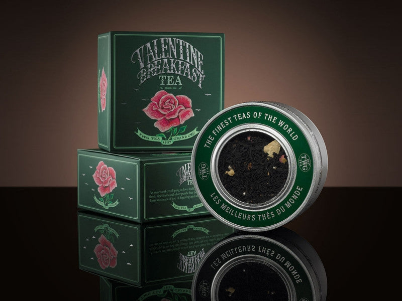 TWG Tea Valentine Breakfast Tea Caviar Collection