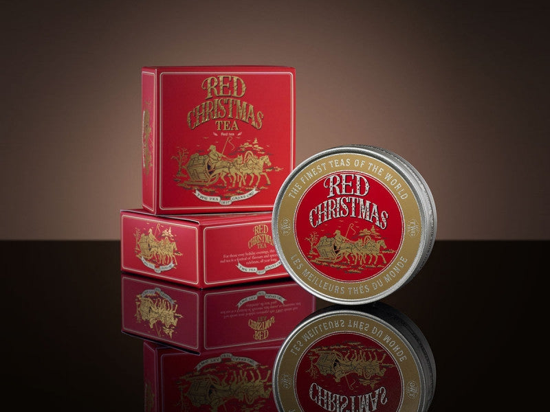 TWG Tea Red Christmas Tea Caviar