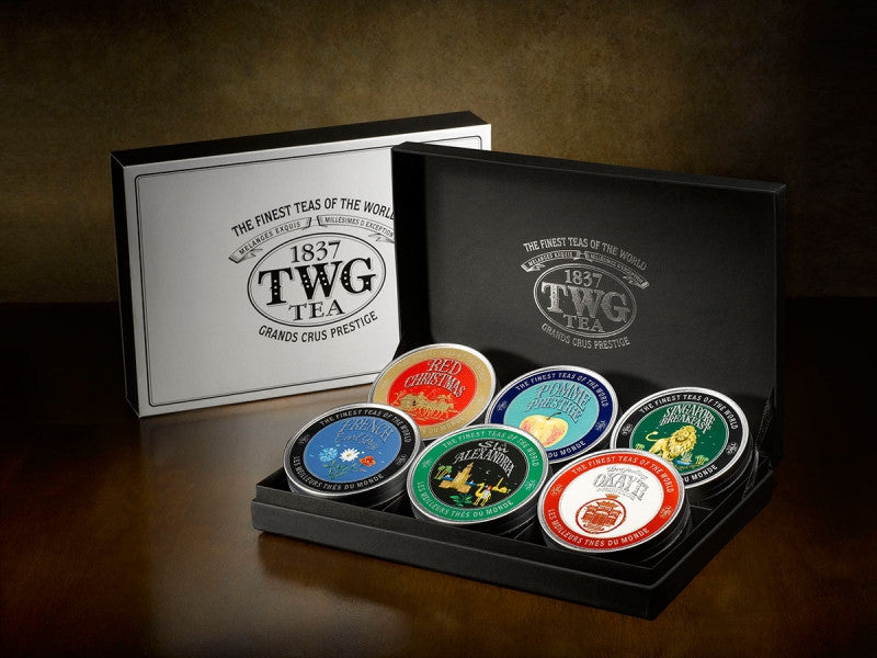 TWG Tea World Voyage Christmas Tea Set