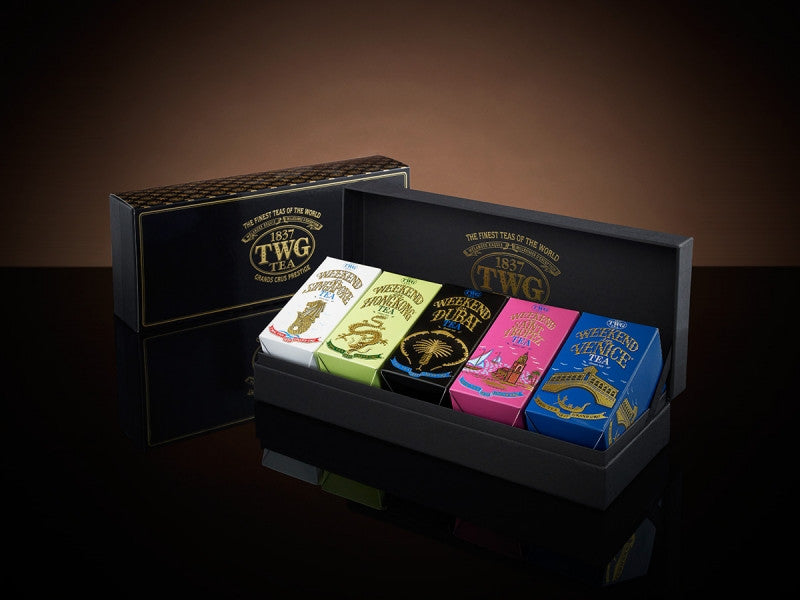 TWG Tea Weekend – Tea Route Quinto Tea Set
