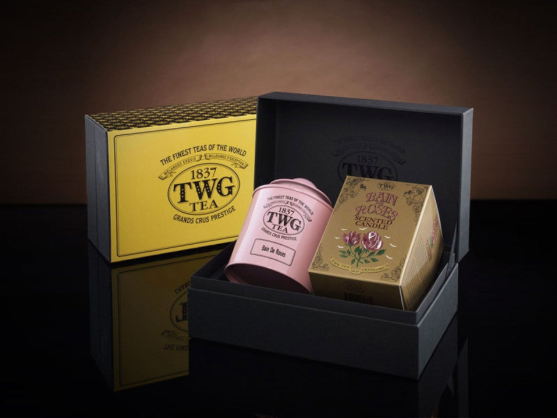 TWG Tea Rosebud Tea Set