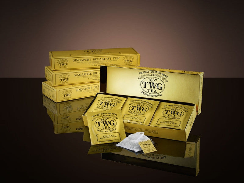 TWG Tea Teabags Singapore Breakfast Tea