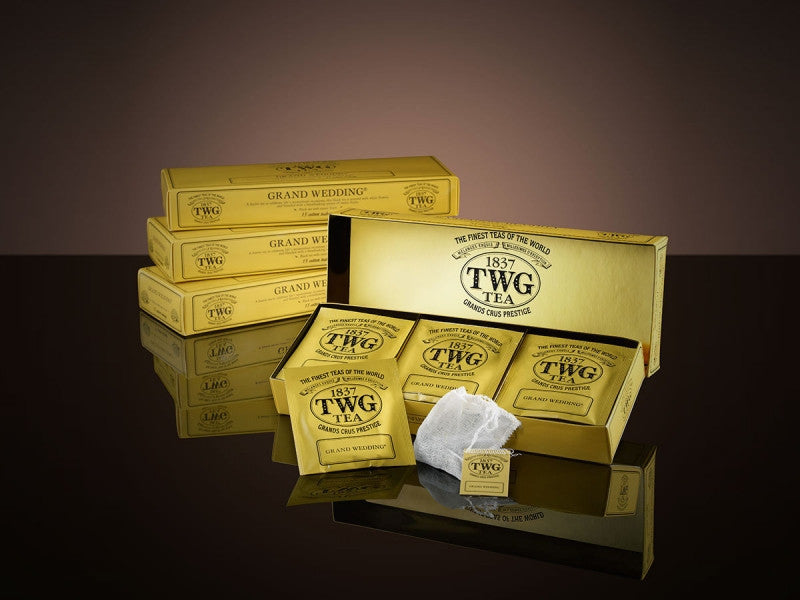 TWG Tea Teabags Grand Wedding Tea