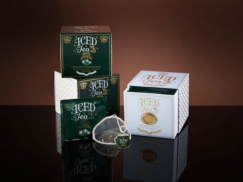 TWG Tea Iced Teabags Grand Jasmine Tea