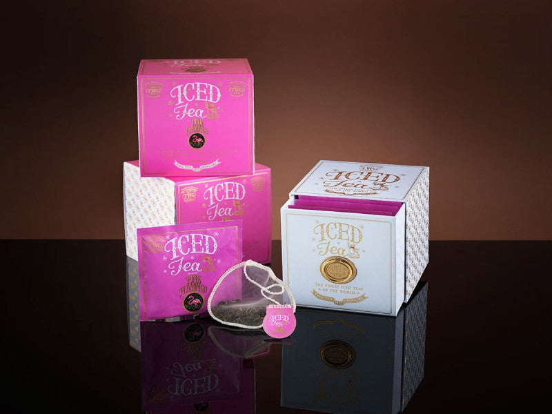 TWG Tea Iced Teabags Pink Flamingo Tea