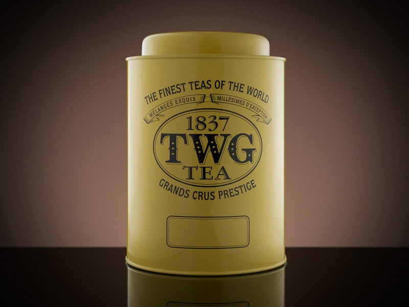 TWG Tea Artisan Tea Tin in Yellow (1kg)