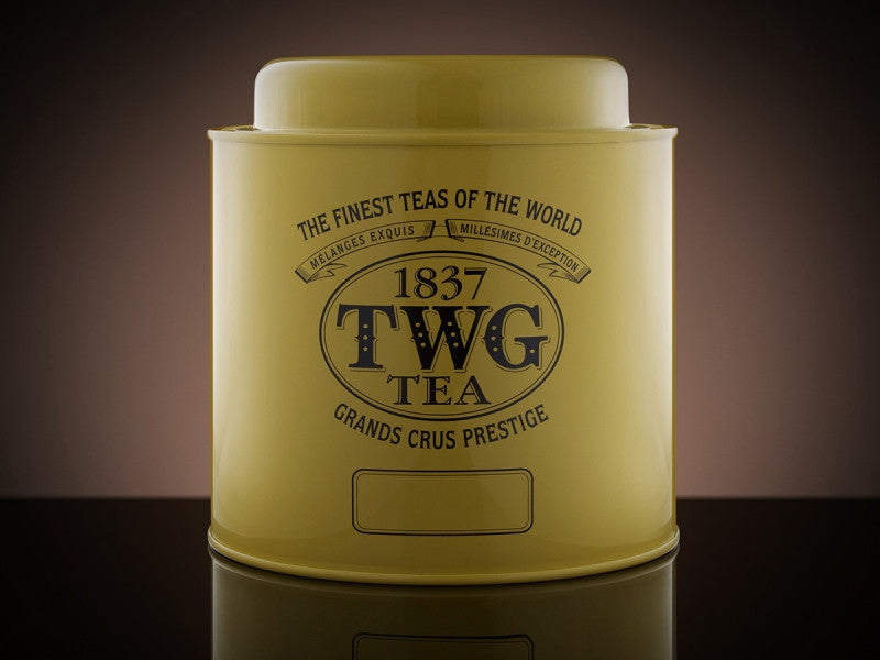 TWG Tea Artisan Tea Tin in Yellow (750g)