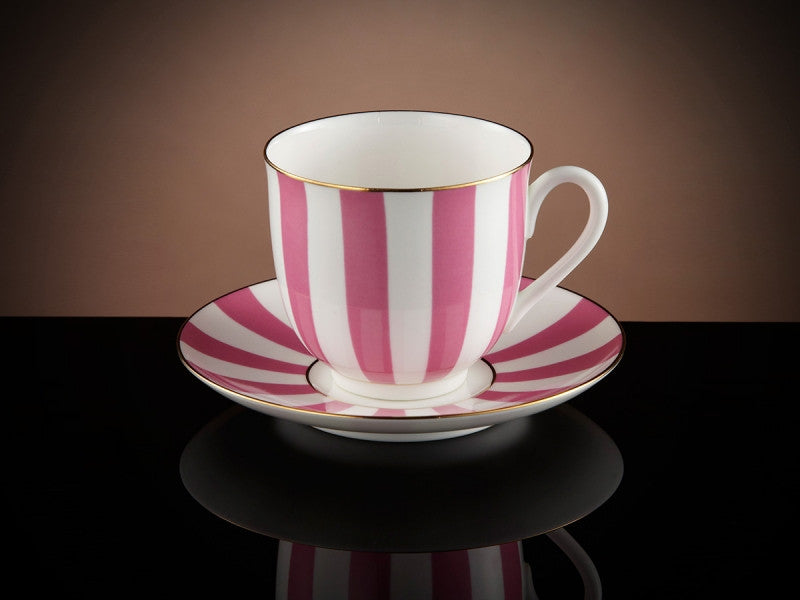 TWG Tea Vogue Teacup & Saucer in Green