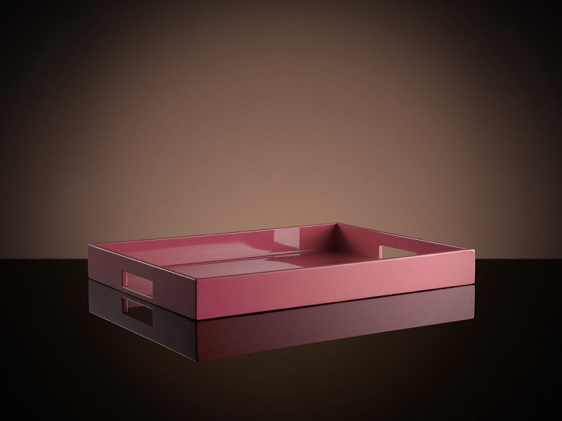 TWG Tea Bauhaus Tea Tray in Candy Pink