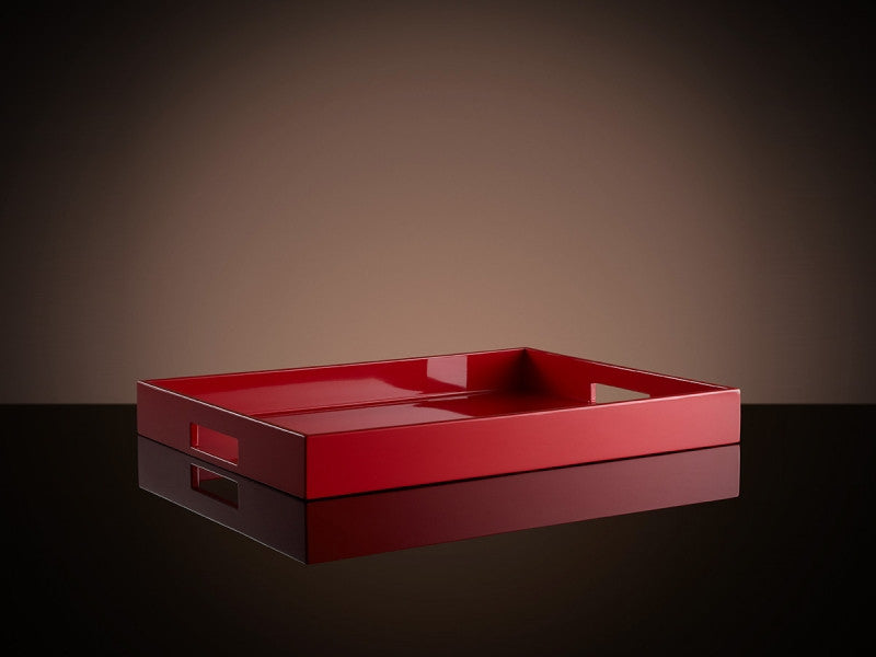 TWG Tea Bauhaus Tea Tray in Red