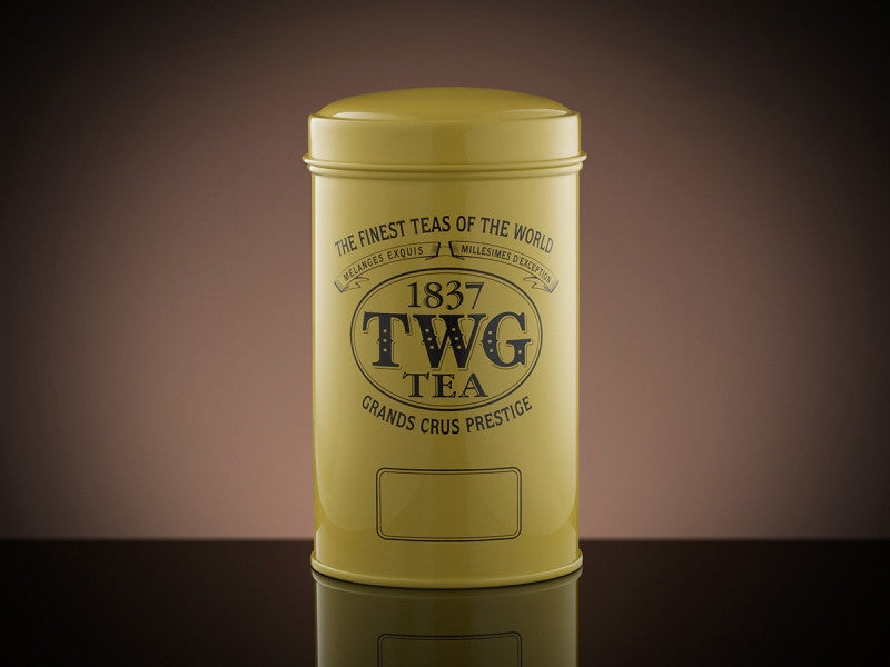 TWG TeaArtisan Tea Tin in Yellow (100g)