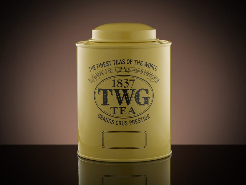TWG Tea Artisan Tea Tin in Yellow (150g)