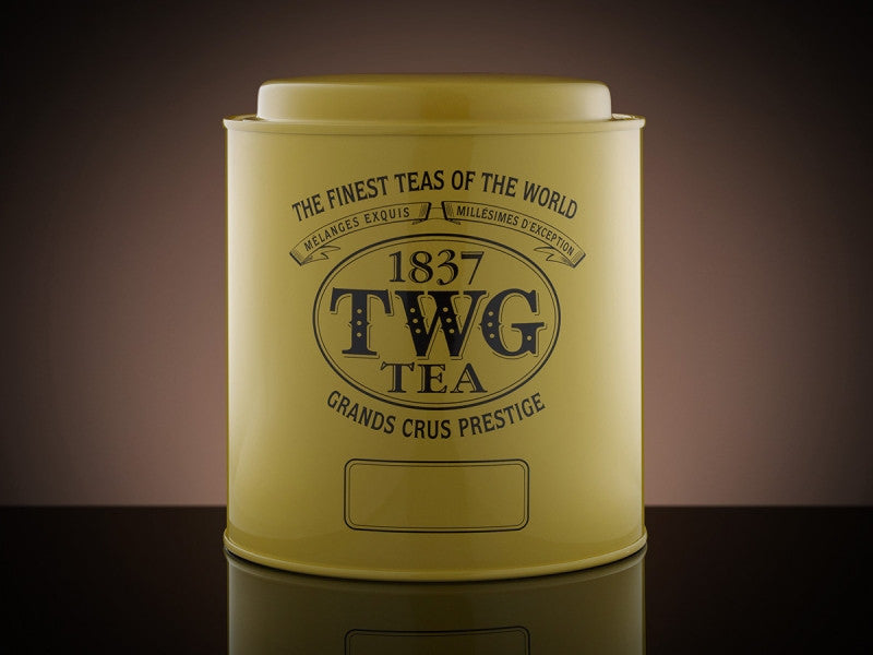 TWG Tea Artisan Tea Tin in Yellow (500g)