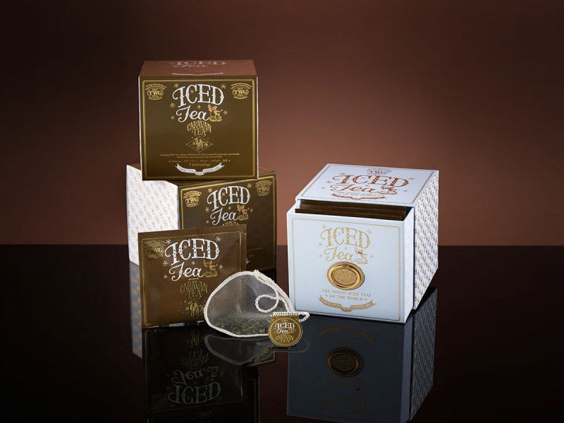 TWG Tea Iced Teabags Caravan Tea