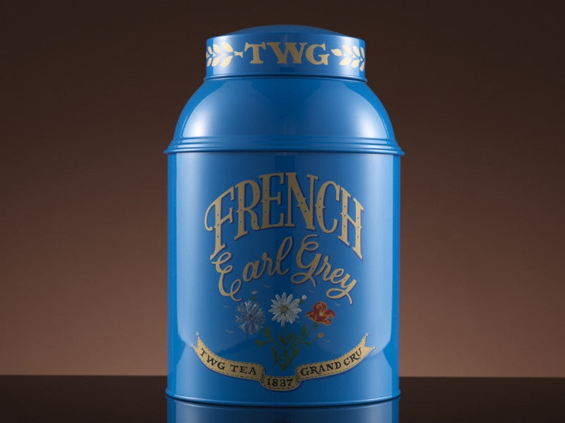 TWG Tea Collector's Tea Tin 1kg, French Earl Grey