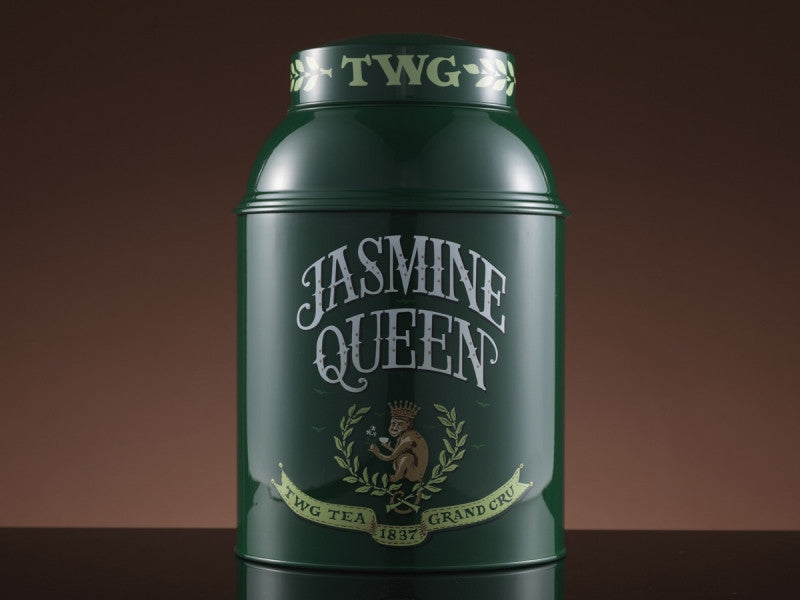 TWG Tea Collector's Tea Tin 1kg, Jasmine Queen Tea