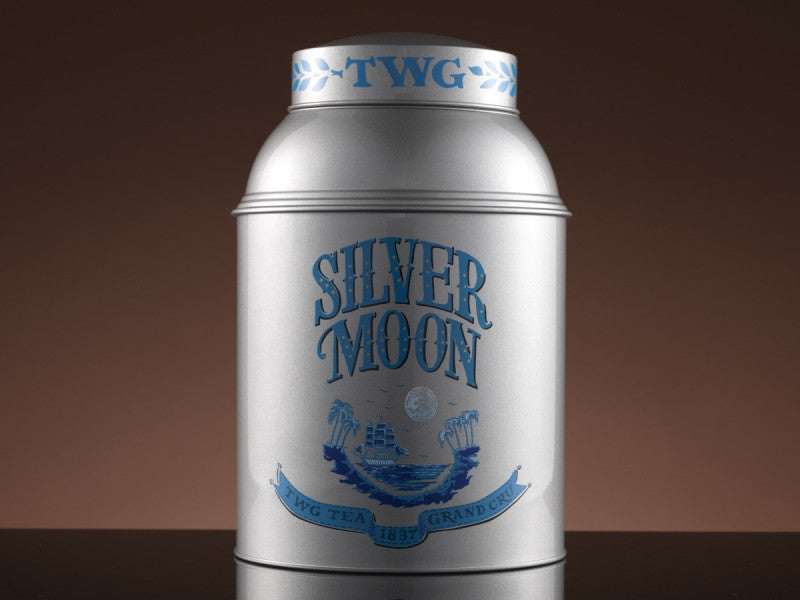 TWG Tea Collector's Tea Tin 1kg, Silver Moon Tea