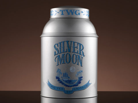 Saturn Tea Tin in Silver (250g)