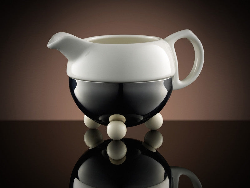 TWG Tea Design Creamer in White
