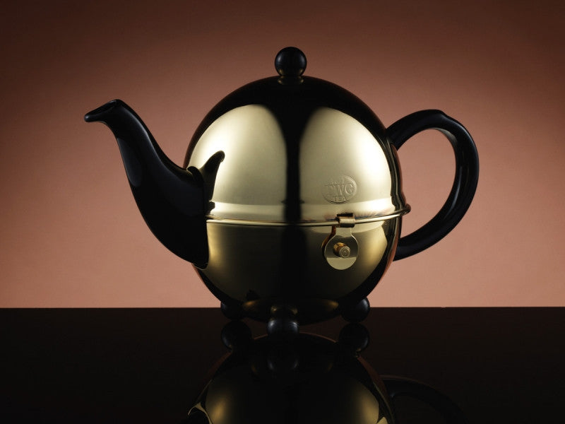 TWG Tea Design Gold Teapot in Black (500ml)