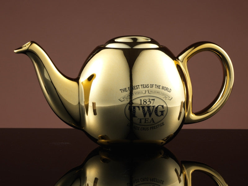 TWG Tea Design Orchid Teapot in Gold (500ml)