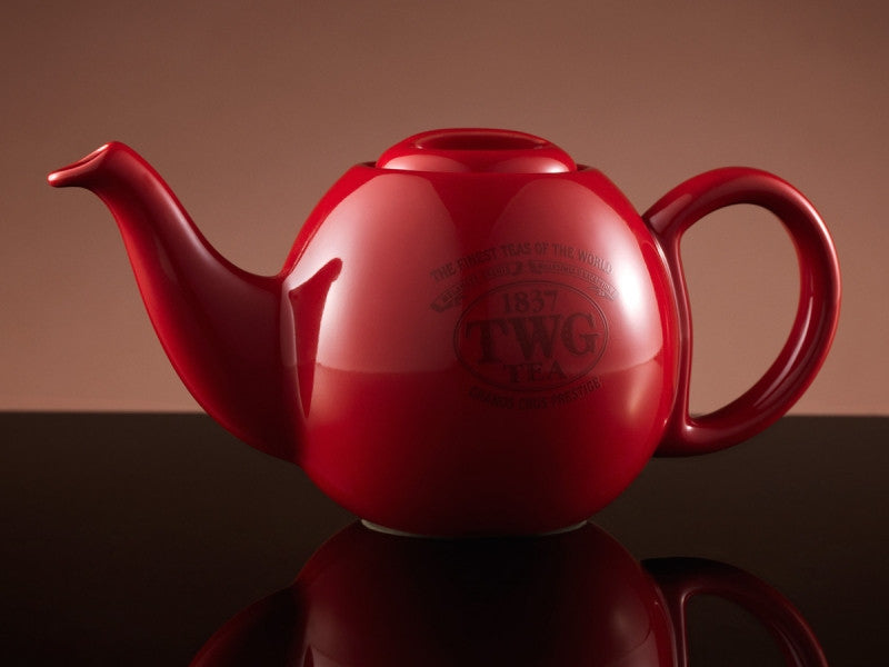 TWG Tea Design Orchid Teapot in Red (500ml)