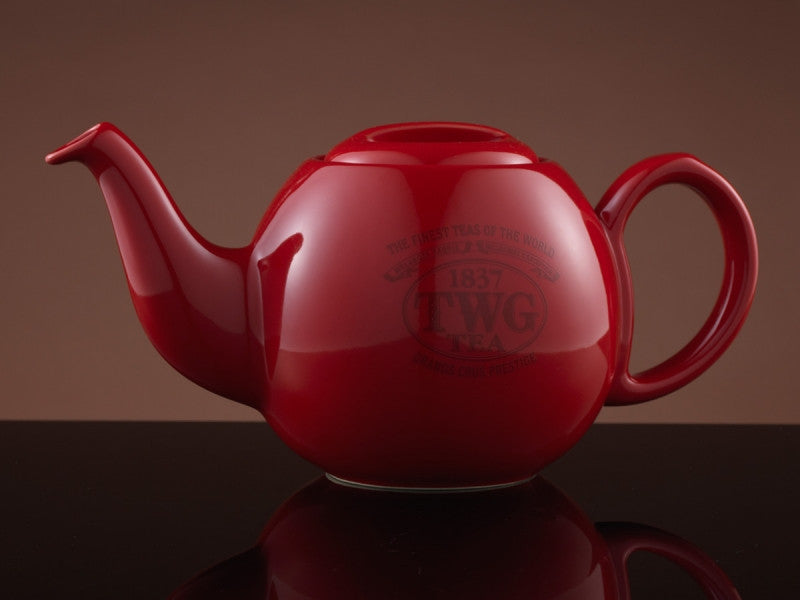 TWG Tea Design Orchid Teapot in Red (900ml)