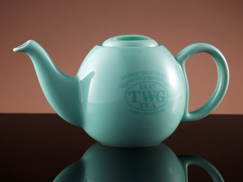 TWG Tea Design Orchid Teapot in Sea Green (500ml)