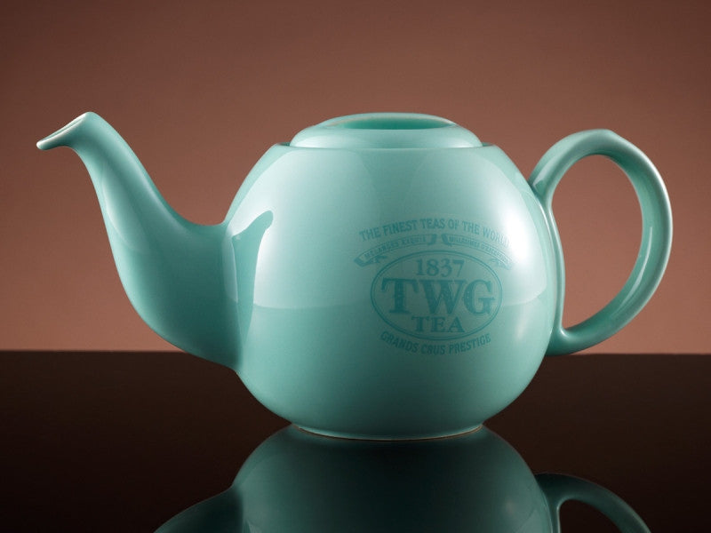 TWG Tea Design Orchid Teapot in Sea Green (900ml)