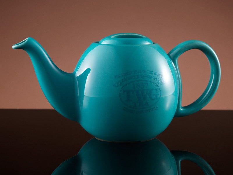 TWG Tea Design Orchid Teapot in Turquoise (500ml)