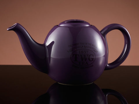 Design Orchid Teapot in Silver (500ml)