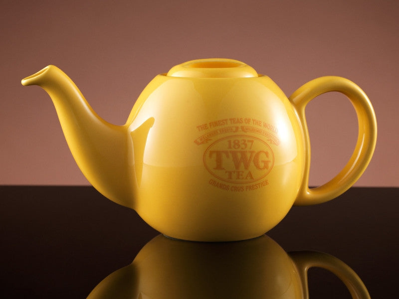 TWG Tea Design Orchid Teapot in Yellow (500ml)