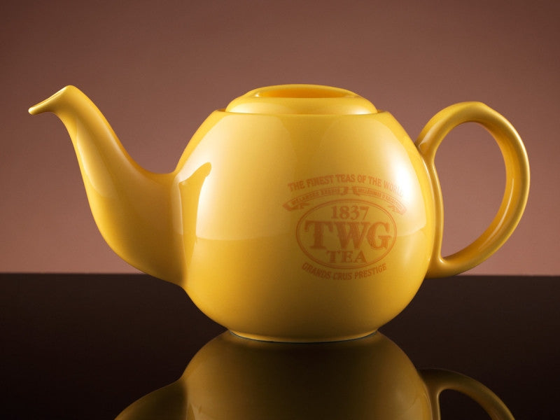 TWG Tea Design Orchid Teapot in Yellow (900ml)