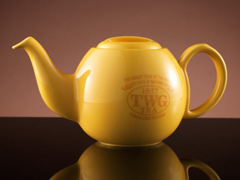 Design Orchid Teapot in Yellow (500ml)