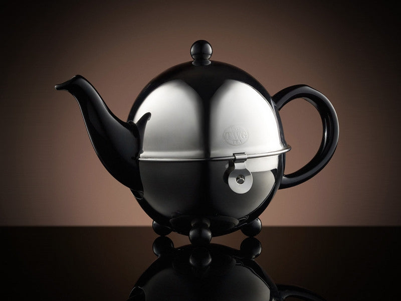 TWG Tea Design Teapot in Black (500ml)