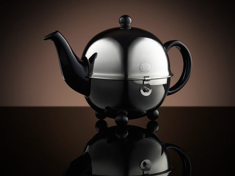 Design Gold Teapot in Black (180ml)