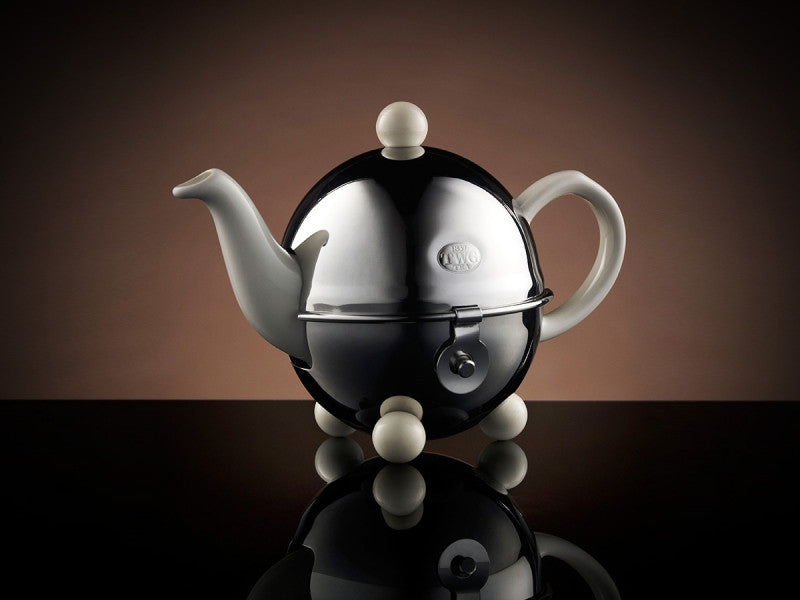 TWG Tea Design Teapot in White (180ml)
