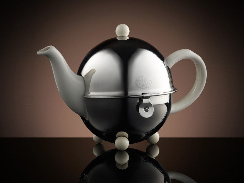 TWG Tea Design Teapot in White (500ml)