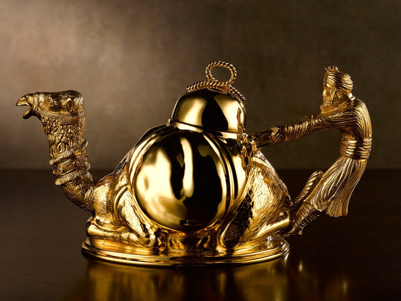 TWG Tea Emir Teapot with Gold Plating (700ml)
