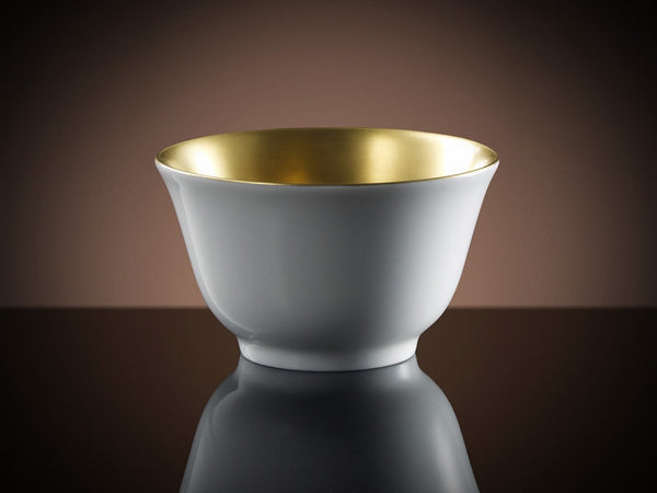 TWG Tea Glamour Tea Bowl in Gold and White