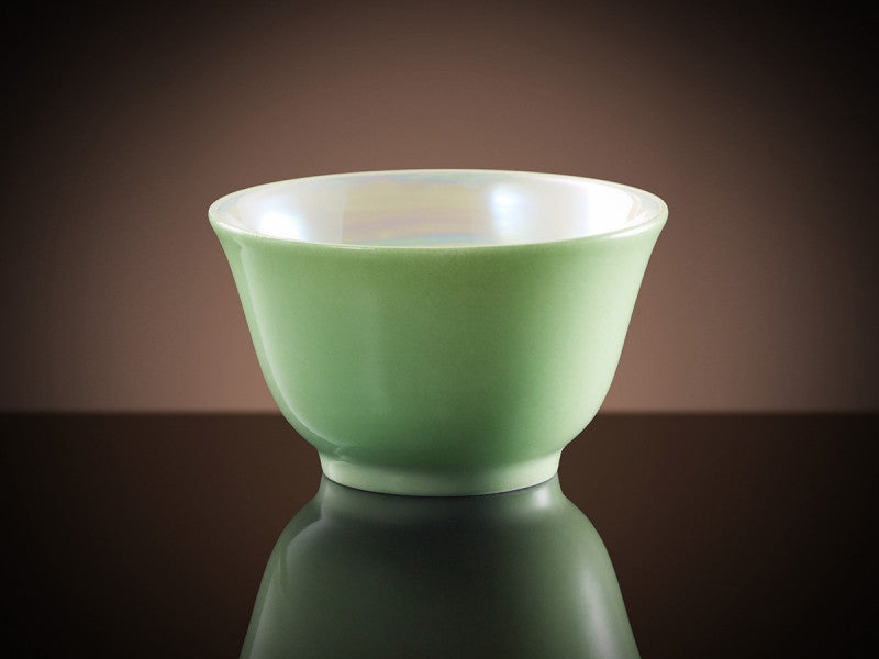 TWG Tea Glamour Tea Bowl in Green Almond