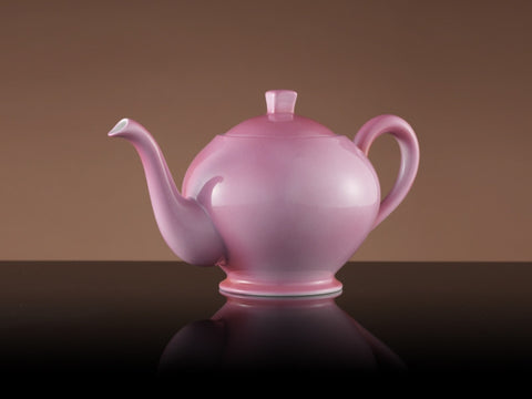 Vogue Teacup & Saucer in Pink