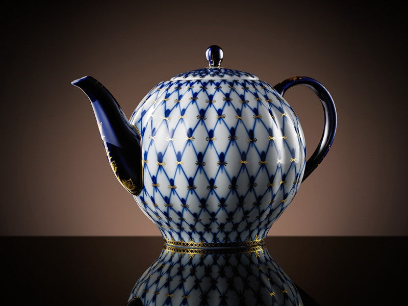 TWG Tea Grand Tsarina Teapot in Cobalt (2L)