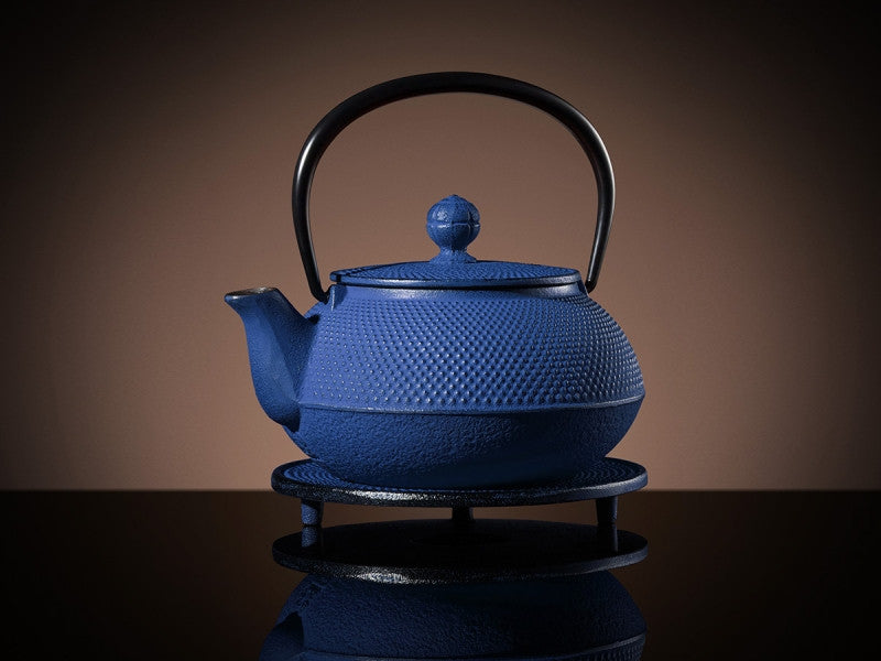 TWG Tea Mikado Teapot & Trivet in Blue (600ml)