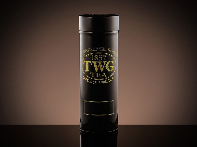 TWG Tea Modern Tea Tin in Black and Gold (100g)