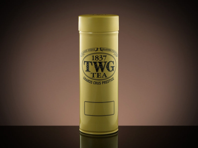 TWG Tea Modern Tea Tin in Yellow (100g)
